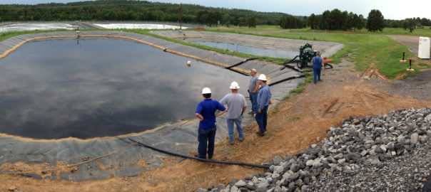 Produced Water Treatment Fayetteville Shale Arkanses
