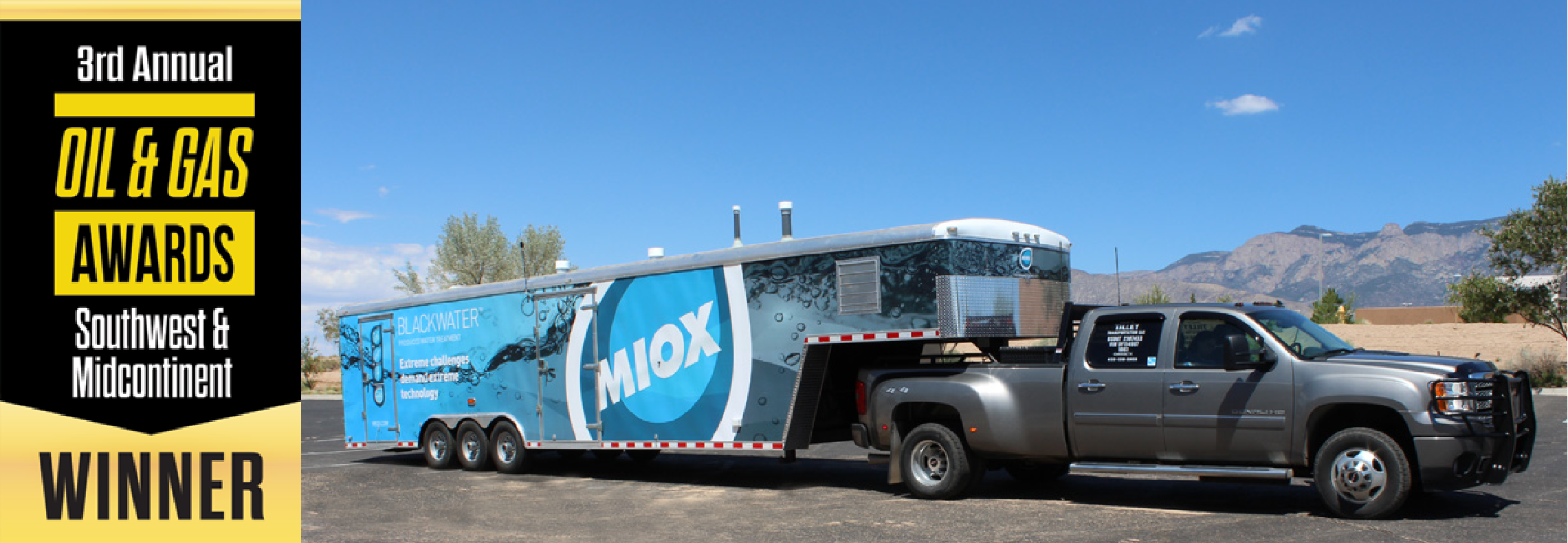 Oil and Gas Water Treatment Company of the year - MIOX Blog