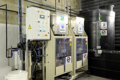 disinfection for district cooling in Paris France