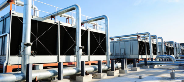 data center cooling tower water treatment chemicals