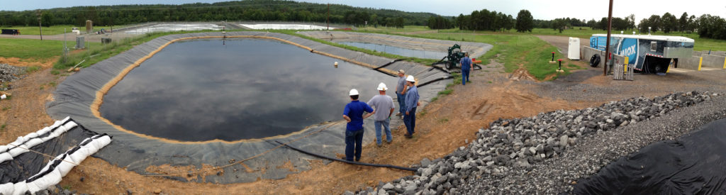 Blackwater O&G produced water treatment panoramic sm